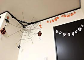 ハロウィンの飾りを手作り!フェルトで作る♪「ガーランド」