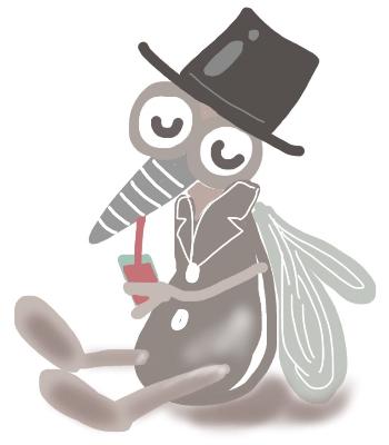 蚊とブヨ「刺され方と症状」の違い