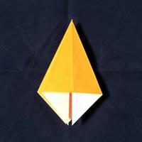 折り紙で作る♪ハロウィンかぼちゃの簡単な「折り方手順」5