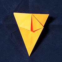 折り紙で作る♪ハロウィンかぼちゃの簡単な「折り方手順」8