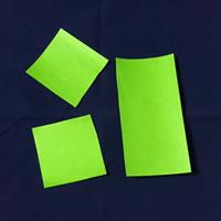 折り紙で作る♪ハロウィンかぼちゃの簡単な「「茎の部分の作り方」1