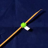 折り紙で作る♪ハロウィンかぼちゃの簡単な「「茎の部分の作り方」4