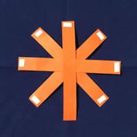 折り紙で手作り♪ハロウィン かぼちゃ飾りの「作り方手順」2