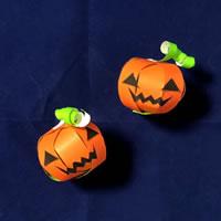 折り紙で手作り♪ハロウィン かぼちゃ飾りの「作り方手順」5