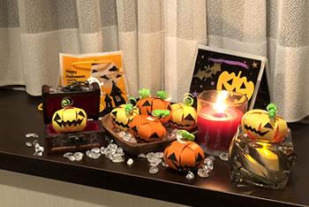 折り紙で手作り!ハロウィンかぼちゃの飾り方バリエーション「シンプルに置くだけ」