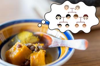 冬至にかぼちゃと小豆を食べるのは?「いとこ煮」の由来