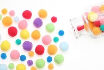 フェルトボールの簡単な作り方!