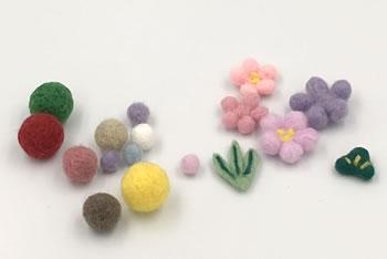 簡単!フェルトの端切れや余った毛糸で作る「フェルトボールの作り方」