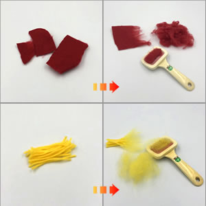 自作「羊毛フェルト」で作る♪フェルトボールの簡単な作り方!