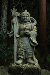 七福神の名前の意味・由来「毘沙門天」
