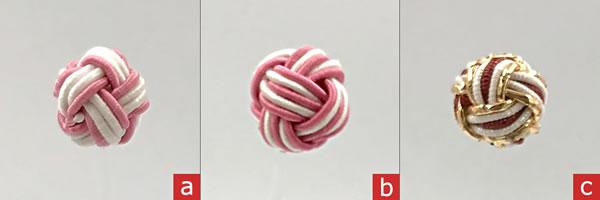 【水引細工】玉結びの作り方「2色や3色の結び方」