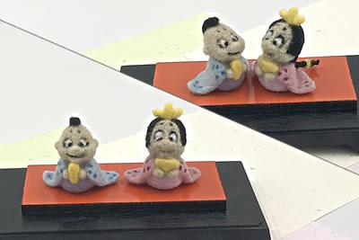 「雛人形」の作り方解説(雛人形の飾り方)