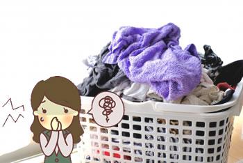 洗濯したタオルが臭い「原因」
